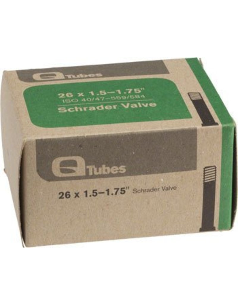 26x1.5-1.75 Q-Tubes Schrader Valve Tube 165g