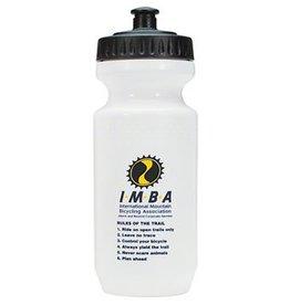 IMBA Water Bottle: 21oz~ White Logo