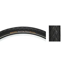 Continental Continental Touring Plus Tire 26x1.75 Black Reflex