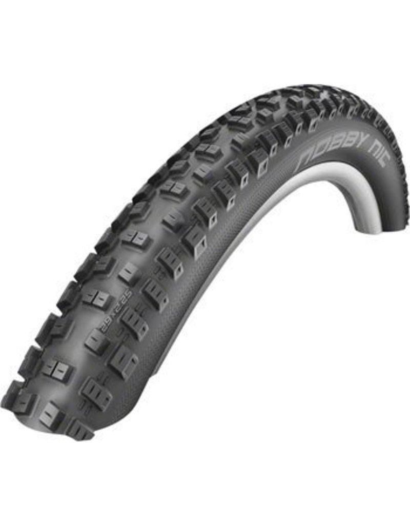 Schwalbe 26x2.25 Schwalbe Nobby Nic Tire, Folding Bead Black with Dual Compound Tread