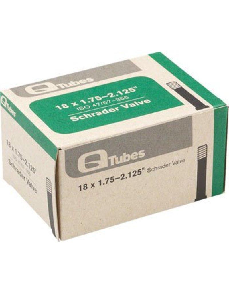 18x1.75-2.125 Q-Tubes Schrader Valve Tube 118g *Low Lead Valve*