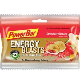 PowerBar PowerBar Energy Blasts Gel Chews : Strawberry Banana, Box of 12