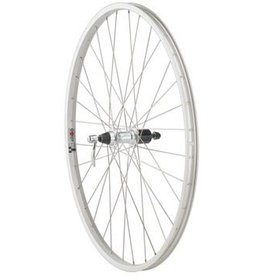 Quality Wheels Value Series 1 Mountain Rear Wheel 700c Formula 135mm Freehub / Alex Y2000 Silver