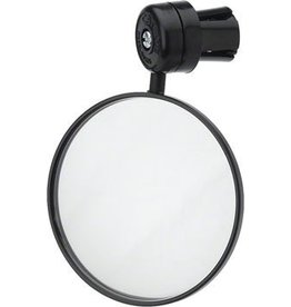 CatEye CatEye Mirror, Round Bar End Sold As Each: Black