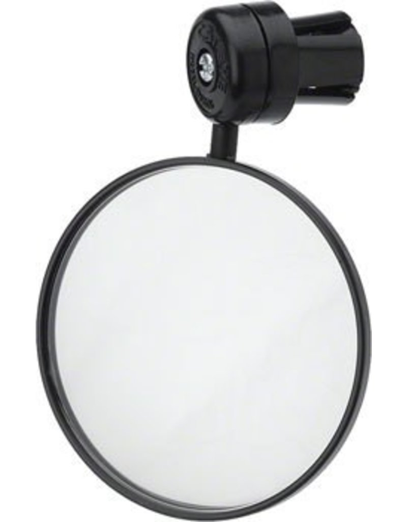CatEye CatEye Mirror, Round Bar End Sold As Each: Black