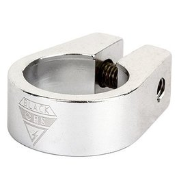 "Black Ops 25.4mm (1"") Black-Ops Seatpost Clamp Alloy Silver"