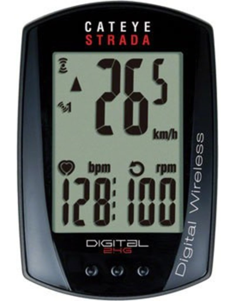 CatEye CatEye Strada Digital Dbl W/ Speed & Cadence Wireless Cycling Computer RD410DW: Black