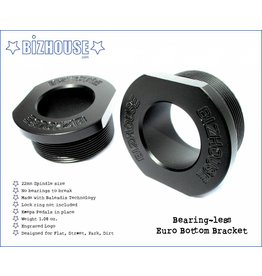 Bizhouse Bizhouse bearing-less bottom bracket (must use lock ring)