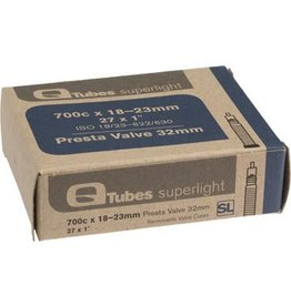 Q-Tubes Superlight 700c x 18-23mm 32mm Presta Valve Tube