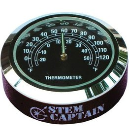 StemCAPtain Thermometer Headset Top Cap: Black