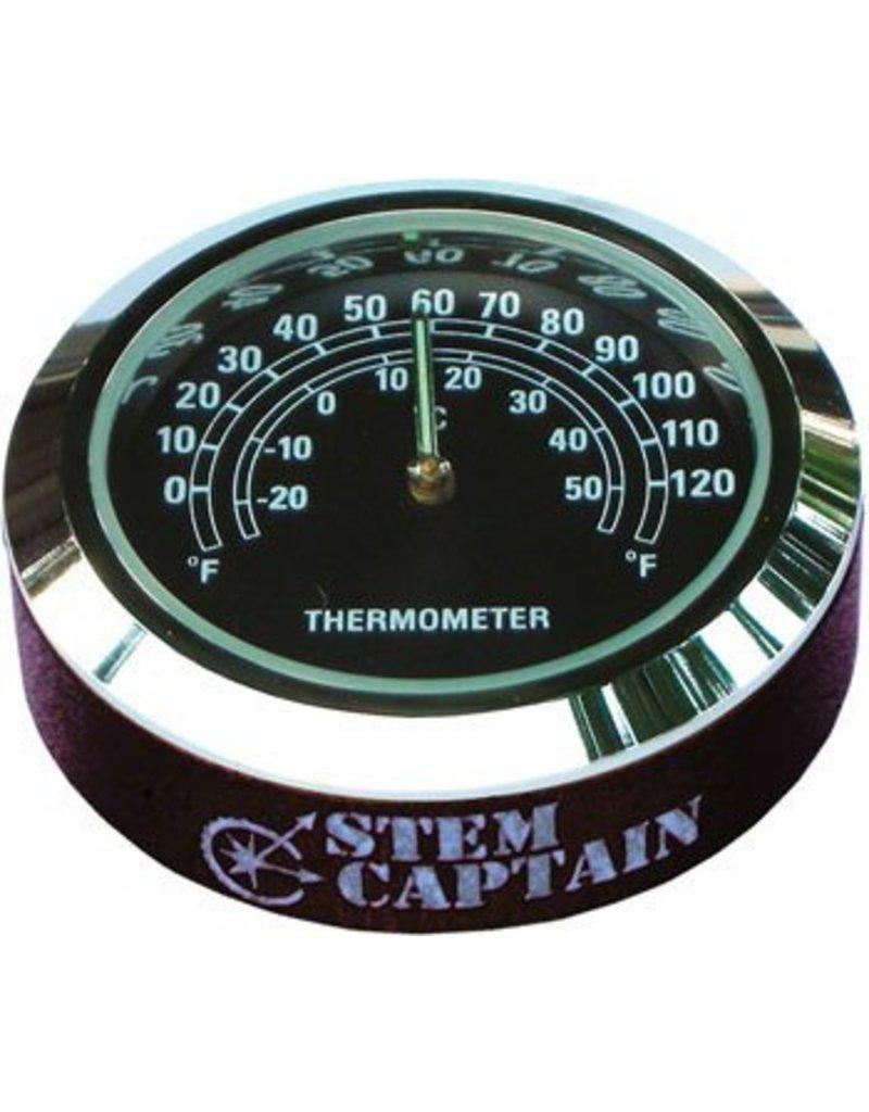 StemCAPtain Thermometer Headset Top Cap: Black