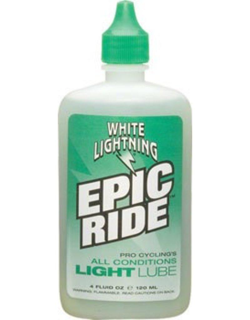 White Lightning White Lightning Epic Ride Lube, 4oz Drip