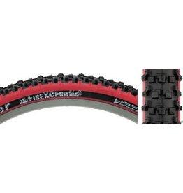 Panaracer 26x2.1 Panaracer Fire XC Pro Black/Red Steel Bead