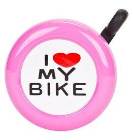 "Sunlite ""I LOVE MY BIKE"" Bell pink"
