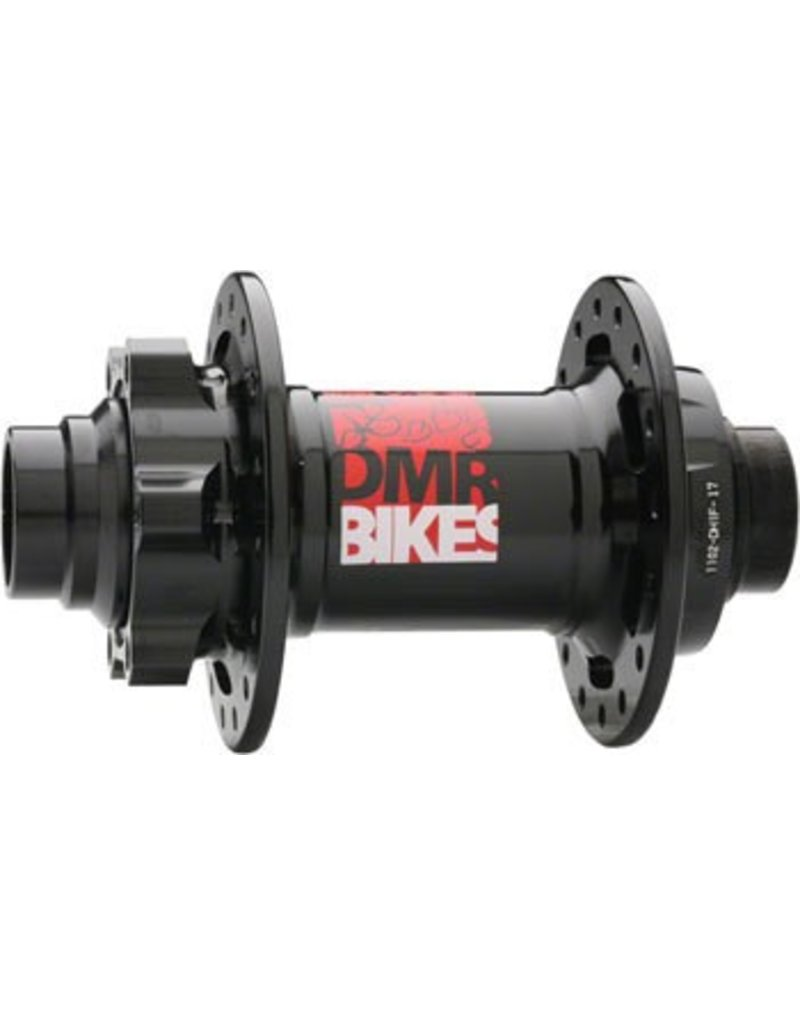 DMR DMR Convertable Front Hub, 20mm/110mm 6-Bolt Disc 36h Black
