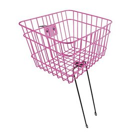 Sunlite Wire Basket FXD 14.5x12x9.5 Pink