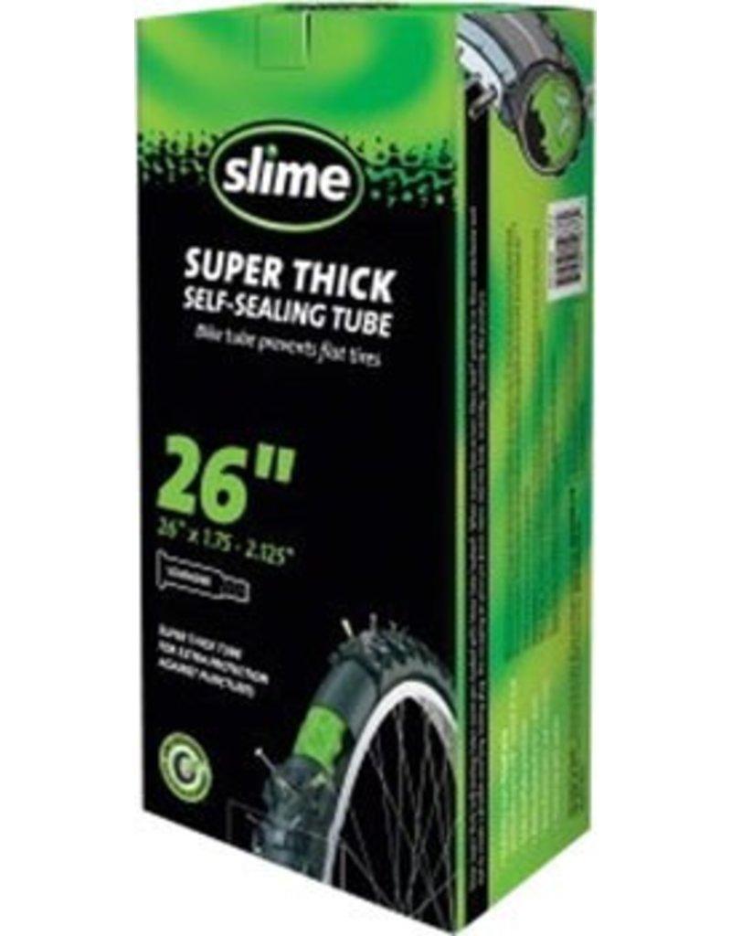 Slime 26x1.75-2.125 Slime Thick Smart Tube Schrader Valve