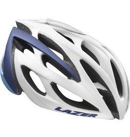 Lazer Lazer Monroe Helmet: White/Blue MD/LG