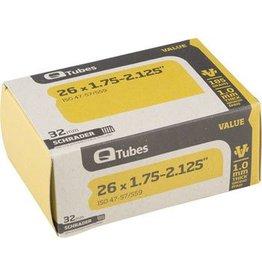 26x1.75-2.125 Q-Tubes Value Series Tube with Schrader Valve
