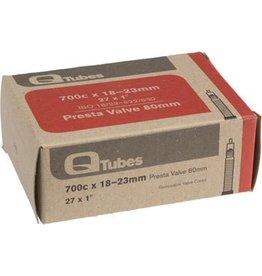 Q-Tubes 700c x 18-23mm 80mm Presta Valve Tube 103g