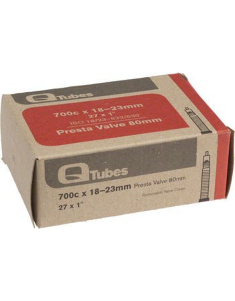 700x18-23mm Q-Tubes 80mm Presta Valve Tube 103g
