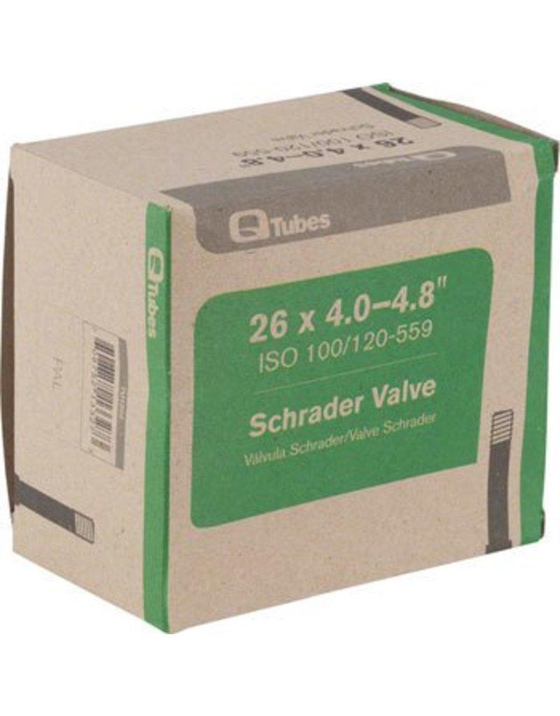 26x4.0-4.8 Q-Tubes Fat Bike Tube: 32mm Schrader Valve