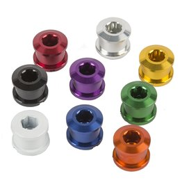 Insight INSIGHT ALLOY Chainring Bolts 6.5MM RED 6.5MM X 4MM