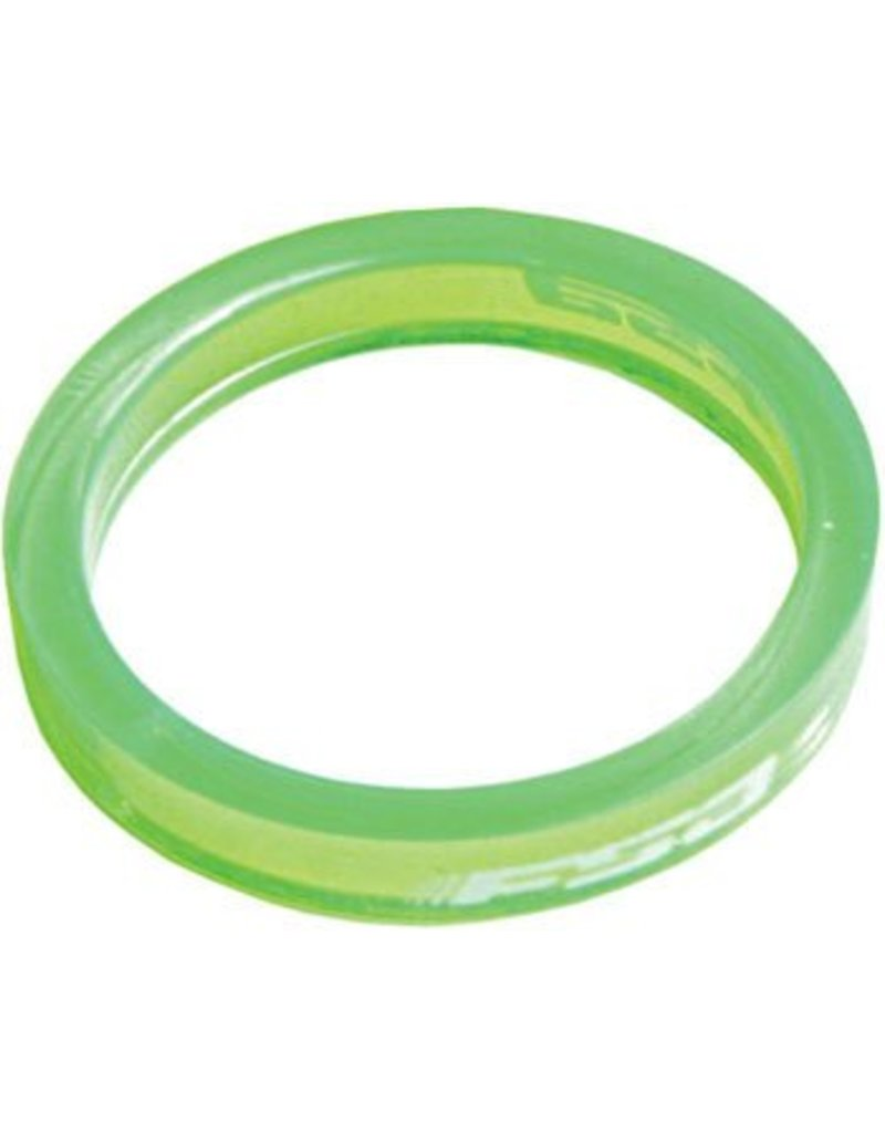 FSA (Full Speed Ahead) FSA PolyCarbonate 5MM  Spacer Green single