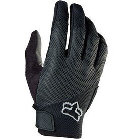 Fox Racing Fox Racing Reflex Gel Full Finger Gloves: Black MD