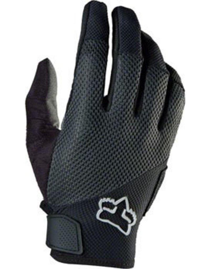 Fox Racing Fox Racing Reflex Gel Full Finger Gloves: Black MD