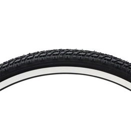 Vee Tire Co. 26x1.75 Vee Rubber Semi Knobby MTB Tire Steel Bead Black