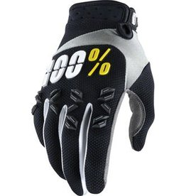 100% 100% Airmatic Glove: Black LG