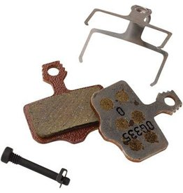 Avid Avid/ SRAM Disc Brake Pads, Fit Elixir and DB Series, Level TL, Level T, Level, Organic with Aluminum Back 1 Set