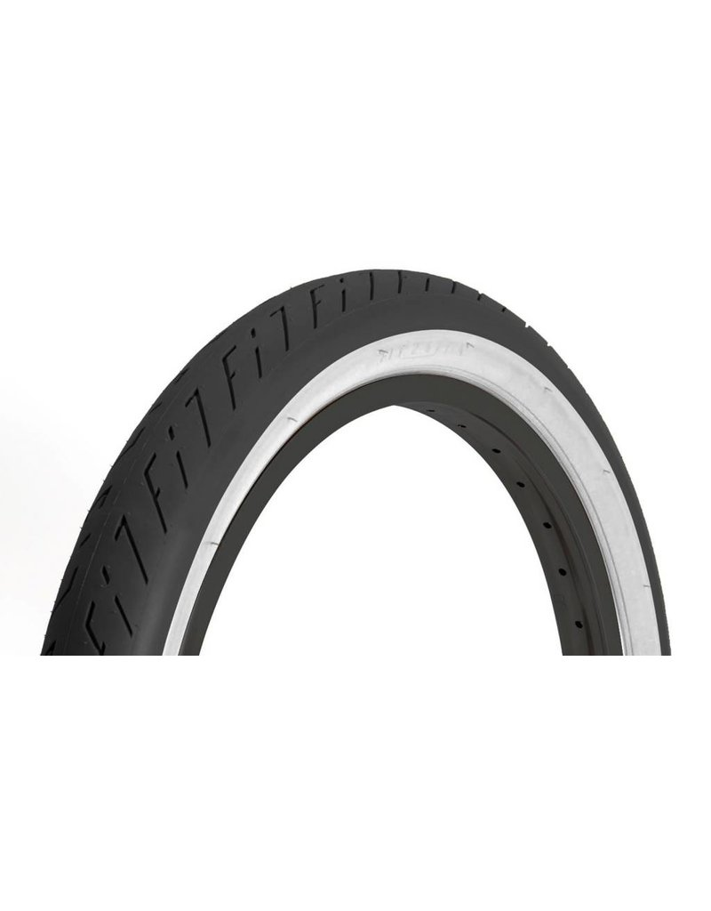 Fit Bike Co 20x2.3 FIT T/A Tire Black w/Whitewall