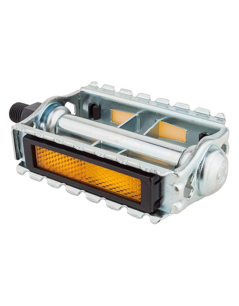 VP Components VP-378 CLASSIC RAT TRAP pedals 1/2 Silver