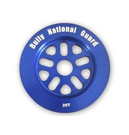 Bully BULLY National Guard Sprocket 25T Blue