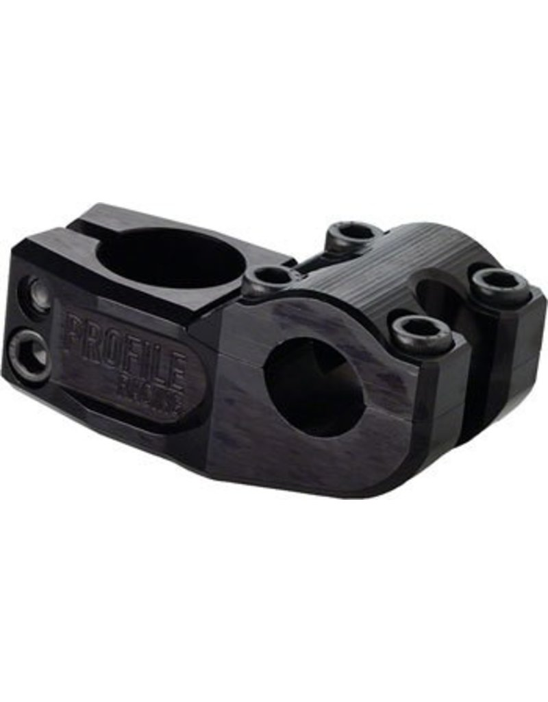 Profile Racing Profile Racing Mulville Push Stem +/- 0 degree, 53mm Blacked Out