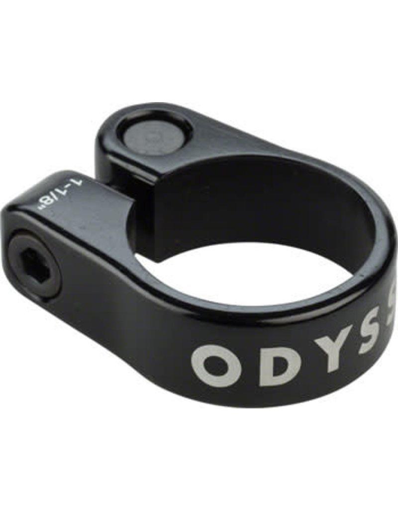 "Odyssey Odyssey Slim Seat Post Clamp 1-1/8"" Black"