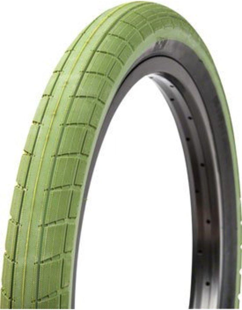 BSD BSD Donnasqueak Tire - 20 x 2.4, Clincher, Wire, Surplus Green