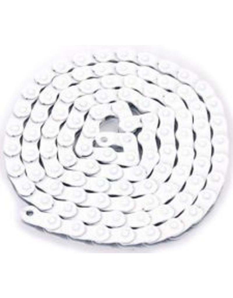 "KMC KMC HL710 Half-Link Chain: 1/8"" 100 Links White"