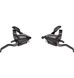 Shimano Shimano ST-EF500 3 x 7-Speed Brake/Shift Lever Set Black