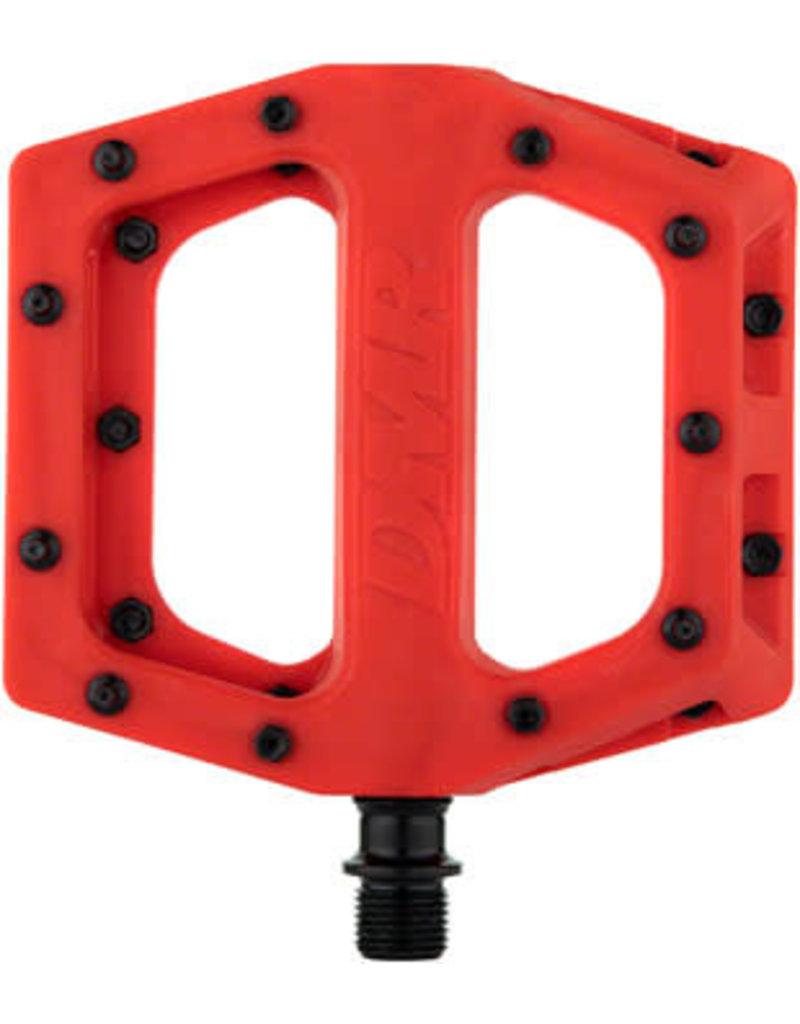 """DMR DMR V11 Pedals - Platform, Composite, 9/16"""", Red"""