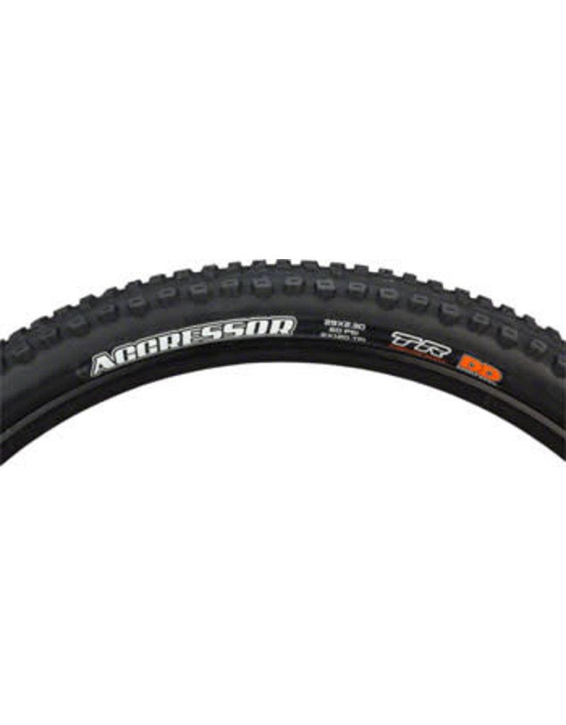 Maxxis 29x2.3  Maxxis Aggressor Tire - Tubeless, Folding, Black, Dual, DD