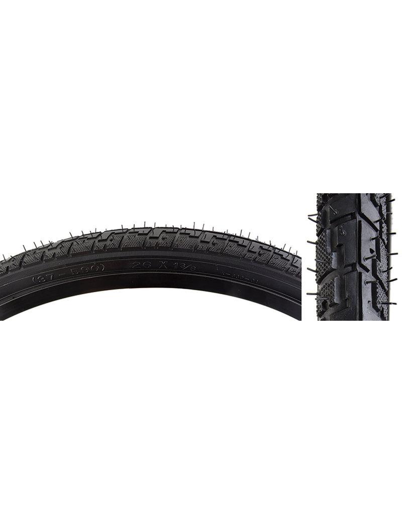 26x1-3/8 Sunlite Tire Black Hybrid K830