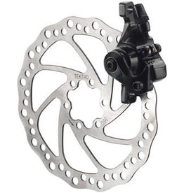 Tektro Tektro Aries MD-M300 Mech. Post Mount Disc Caliper for Long-Pull Levers, Black (rotor not included)