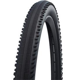 Schwalbe 27.5x2 Schwalbe Hurricane Tire - Clincher, Wire, Black, Performance, Addix
