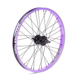 "Stolen Stolen Rampage Rear Wheel - 20"", 14 x 110mm, Rim Brake, Cassette, Lavender, Clincher"