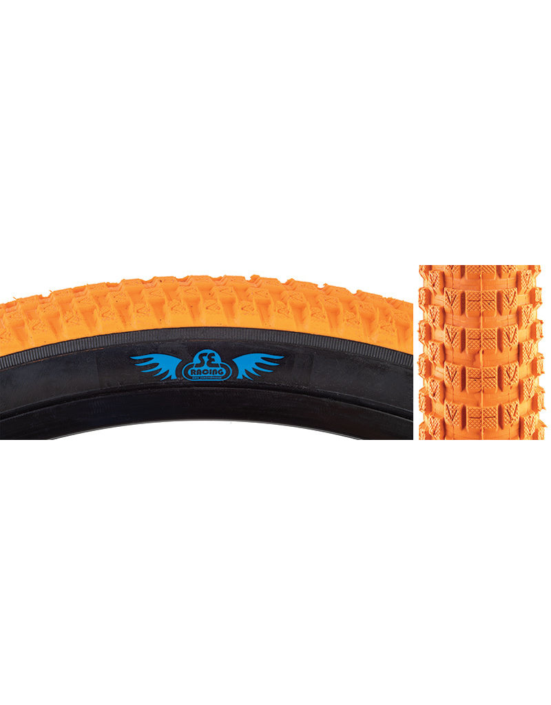 SE BIKES 20x2.0 SE Bikes Cub Tire Orange/Blackwall