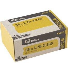26x1.75-2.125 Q-Tube Value Series Tube w/ Long (48mm) Schrader Valve