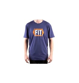 Fit Bike Co FIT Directional Tee Blue Large